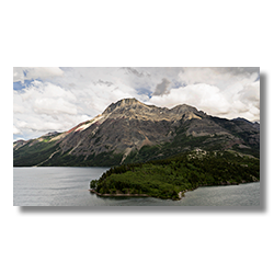 Vimy Peak on the east shore of Waterton Lake.